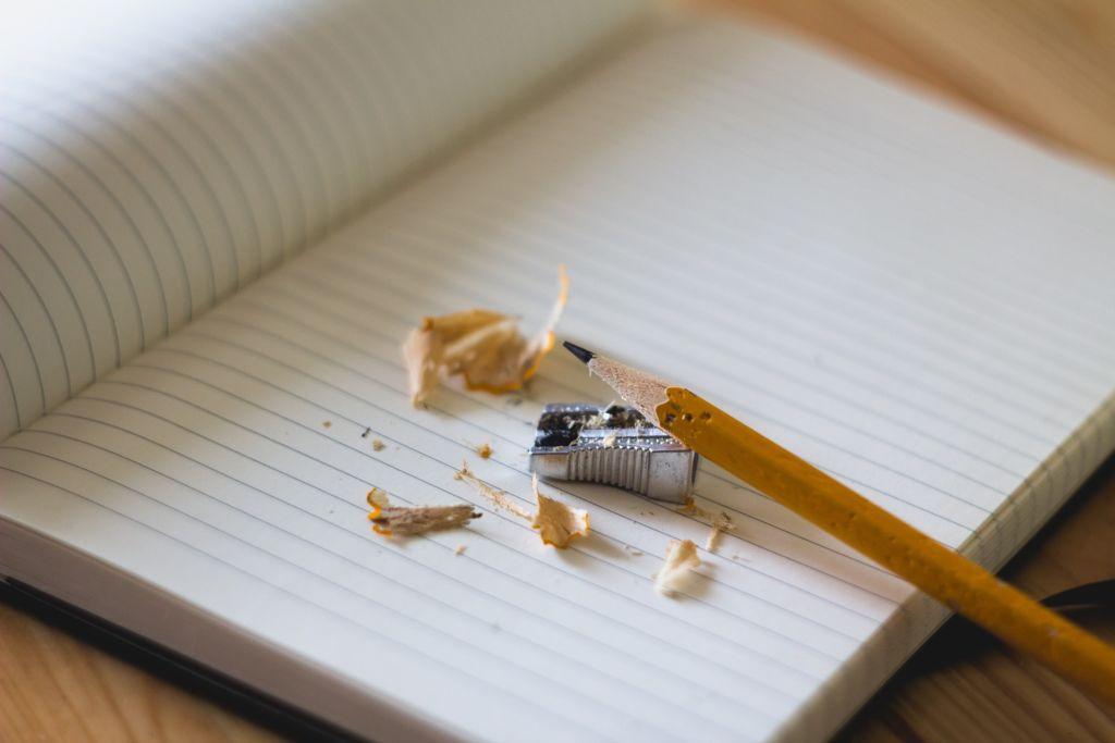cuaderno sacapuntas